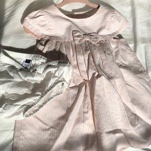 Pink dress super cute!